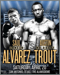 SHOWTIME SPORTS TO STREAM ALVAREZ VS. TROUT WEIGH-IN LIVE
