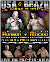 MONSON VS RIZZO HEADLINE USA VS BRAZIL