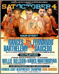 BARTHELEMY DOMINATES SAUCEDO, MARTIROSYAN IMPRESSES AGAINST NELSON, AND KARPENCY SHOCKS DAWSON
