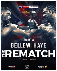 BELLEW VS. HAYE 2 RESCHEDULED FOR MAY 5 AT O2 ARENA