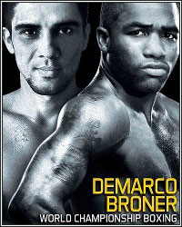 LIVE BRONER VS. DEMARCO RESULTS AND ROUND-BY-ROUND COVERAGE
