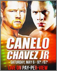 CANELO BATTERS JULIO CESAR CHAVEZ JR. IN EVERY ROUND; WINS DOMINANT, LOPSIDED UNANIMOUS DECISION