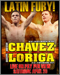 ROUND-BY-ROUND: CHAVEZ JR. VS. LORIGA