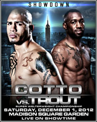 ALL ACCESS: COTTO VS. TROUT PREMIERES THIS FRIDAY, NOVEMBER 16