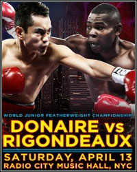 RIGONDEAUX CRUISES TO EASY UNANIMOUS DECISION VICTORY OVER DONAIRE