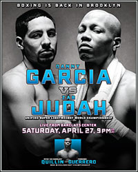 LIVE STREAM: GARCIA VS. JUDAH WEIGH-IN AT 1PM ET/10AM PT