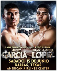 MIKEY GARCIA DEMOLISHES JUAN MANUEL LOPEZ IN 4