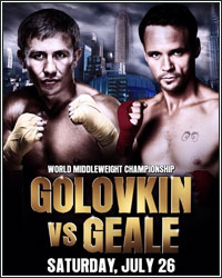 [VIDEO] WATCH THE GOLOVKIN VS. GEALE WEIGH-IN LIVE AT 12:30PM ET/9:30AM PT