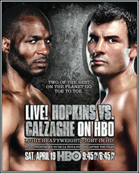 ROUND-BY-ROUND: CALZAGHE VS. HOPKINS