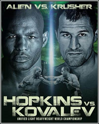 BERNARD HOPKINS ON SERGEY KOVALEV CLASH:
