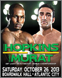 BERNARD HOPKINS SCORES THRILLING UNANIMOUS DECISION OVER GAME KARO MURAT