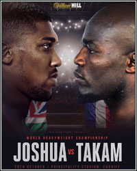 ANTHONY JOSHUA STOPS GAME CARLOS TAKAM IN 10TH