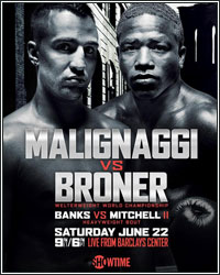 SHOWTIME SPORTS TO STREAM MALIGNAGGI VS. BRONER FINAL PRESS CONFERENCE AND WEIGH-IN LIVE