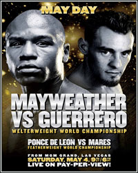 LIVE MAYWEATHER VS. GUERRERO RINGSIDE RESULTS AND ROUND-BY-ROUND COVERAGE