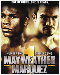 NOT EVEN CLOSE...MAYWEATHER DOMINATES MARQUEZ