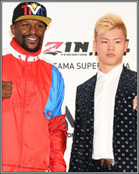 FLOYD MAYWEATHER VS. TENSHIN NASUKAWA OFFICIAL DETAILS OF NEW YEAR'S EVE SHOWDOWN