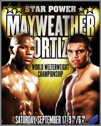 MAYWEATHER VS. ORTIZ DOES AT LEAST 1.3 MILLION PPV BUYS