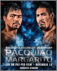 HBO REPORTS 1.15 MILLION BUYS FOR PACQUIAO VS. MARGARITO