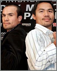 MARQUEZ SAYS ANOTHER SHOWDOWN WITH PACQUIAO IS WHAT MOTIVATES HIM TO KEEP FIGHTING