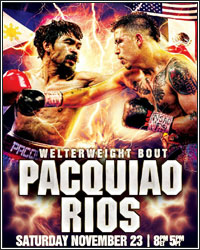 [VIDEO] WATCH THE LIVE STREAM OF THE PACQUIAO VS. RIOS WEIGH-IN TODAY AT 6:30PM ET/3:30PM PT