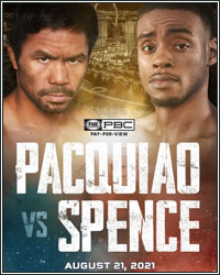 ERROL SPENCE PULLS OUT OF PACQUIAO FIGHT DUE TO EYE INJURY; YORDENIS UGAS STEPS IN TO REPLACE HIM