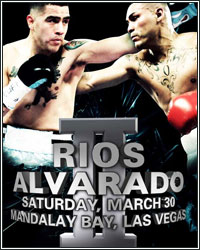 ALVARADO GETS REVENGE AFTER ANOTHER WAR; WINS UNANIMOUS DECISION OVER RIOS