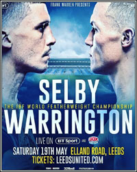 JOSH WARRINGTON DISCUSSES LEE SELBY CLASH: