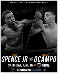 ERROL SPENCE DESTROYS CARLOS OCAMPO IN FIRST ROUND