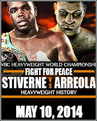BERMANE STIVERNE KNOCKS OUT CHRIS ARROELA IN 6; MAKES HISTORY AND CAPTURES WBC HEAVYWEIGHT TILE