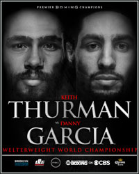 KEITH THURMAN DEFEATS DANNY GARCIA VIA SPLIT DECISION TO UNIFY WBC AND WBA WELTERWEIGHT TITLES