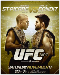 FIGHTHYPE PREVIEW: UFC 154 ST-PIERRE VS. CONDIT