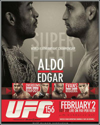 FIGHTHYPE PREVIEW: UFC 156 ALDO VS. EDGAR