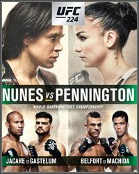 NUNES DOMINATES PENNINGTON AT UFC 224