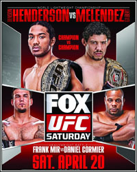 FIGHTHYPE PREVIEW: UFC ON FOX 7 � HENDERSON VS. MELENDEZ