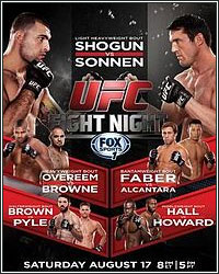 FIGHTHYPE PREVIEW: UFC FIGHT NIGHT SHOGUN VS. SONNEN
