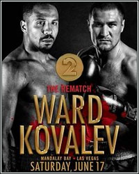 ANDRE WARD STOPS SERGEY KOVALEV IN 8TH ROUND