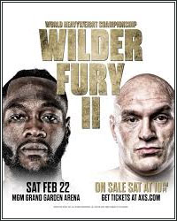 NOTES FROM THE BOXING UNDERGROUND: WILDER-FURY 2 IS A VERY GOOD THING