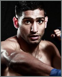 AMIR KHAN GIVES LENGTHY SALES PITCH; ADDRESSES SPEED, POWER AND CHIN TO GET VOTES FOR MAYWEATHER CLASH