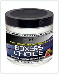 BOXERS CHOICE: THE FIRST EVER BOXER SPECIFIC PRE-WORKOUT DRINK