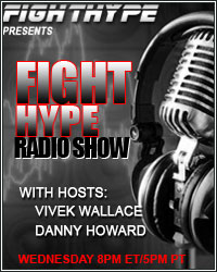 DON'T MISS FIGHTHYPE RADIO TONIGHT AT 8PM ET/5PM PT