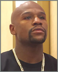 FLOYD MAYWEATHER COMMENTS ON ADRIEN BRONER THROWING MONEY IN WALMART: