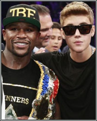 BEYOND THE RING: FLOYD MAYWEATHER AND JUSTIN BIEBER - FRIENDS AND BUSINESS PARTNERS