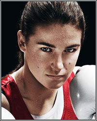 KATIE TAYLOR STEPS UP TO FACE NINA MEINKE ON JOSHUA VS. KLITSCHKO UNDERCARD
