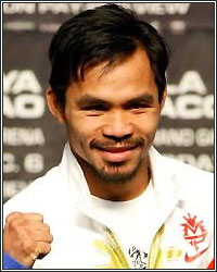 PACQUIAO SIGNS ON THE DOTTED LINE; MAYWEATHER SIGNATURE ALL THAT'S LEFT