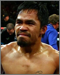 PACQUIAO MISINFORMED; NO NEGOTIATIONS ARE TAKING PLACE FOR A MAYWEATHER FIGHT
