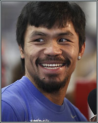 NO REST FOR PACQUIAO AS HE TRAINS THROUGH THANKSGIVING