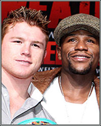 FLOYD MAYWEATHER VS. CANELO ALVAREZ TICKETS ON SALE TUESDAY, JUNE 25 AT 1:00PM ET/10:00AM PT