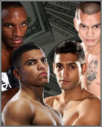 MONEY MAY-PER-VIEW TOURNAMENT: ORTIZ, MAIDANA, KHAN, ALEXANDER...MAYWEATHER!