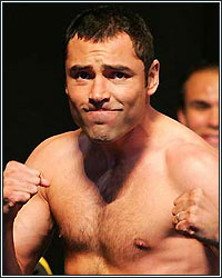 OSCAR DE LA HOYA CHECKED INTO REHAB; COCAINE HABIT TO BLAME?