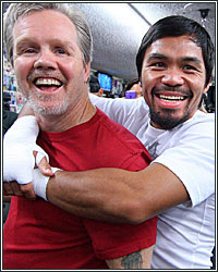 MANNY PACQUIAO AND FREDDIE ROACH OFFICIALLY PART WAYS; END 16-YEAR, 34-FIGHT RUN TOGETHER